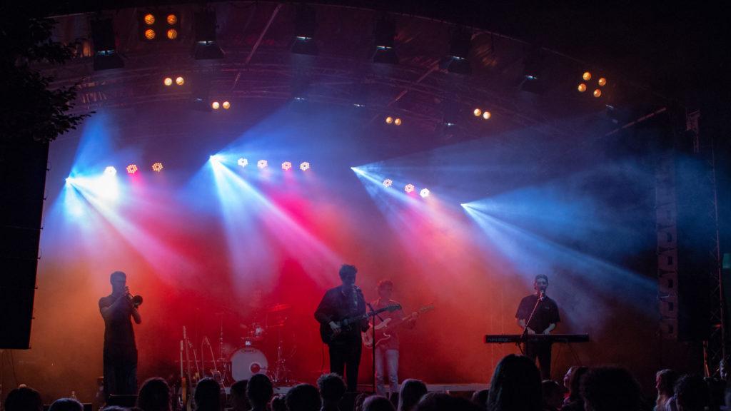 Konzert am Openair Rämibühl 2018